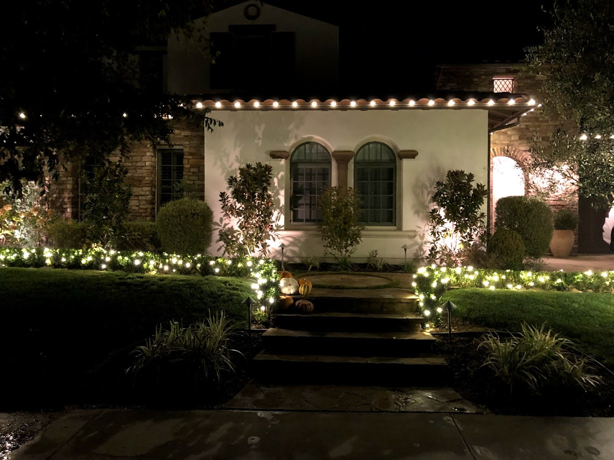 Holiday Lighting in The Oaks