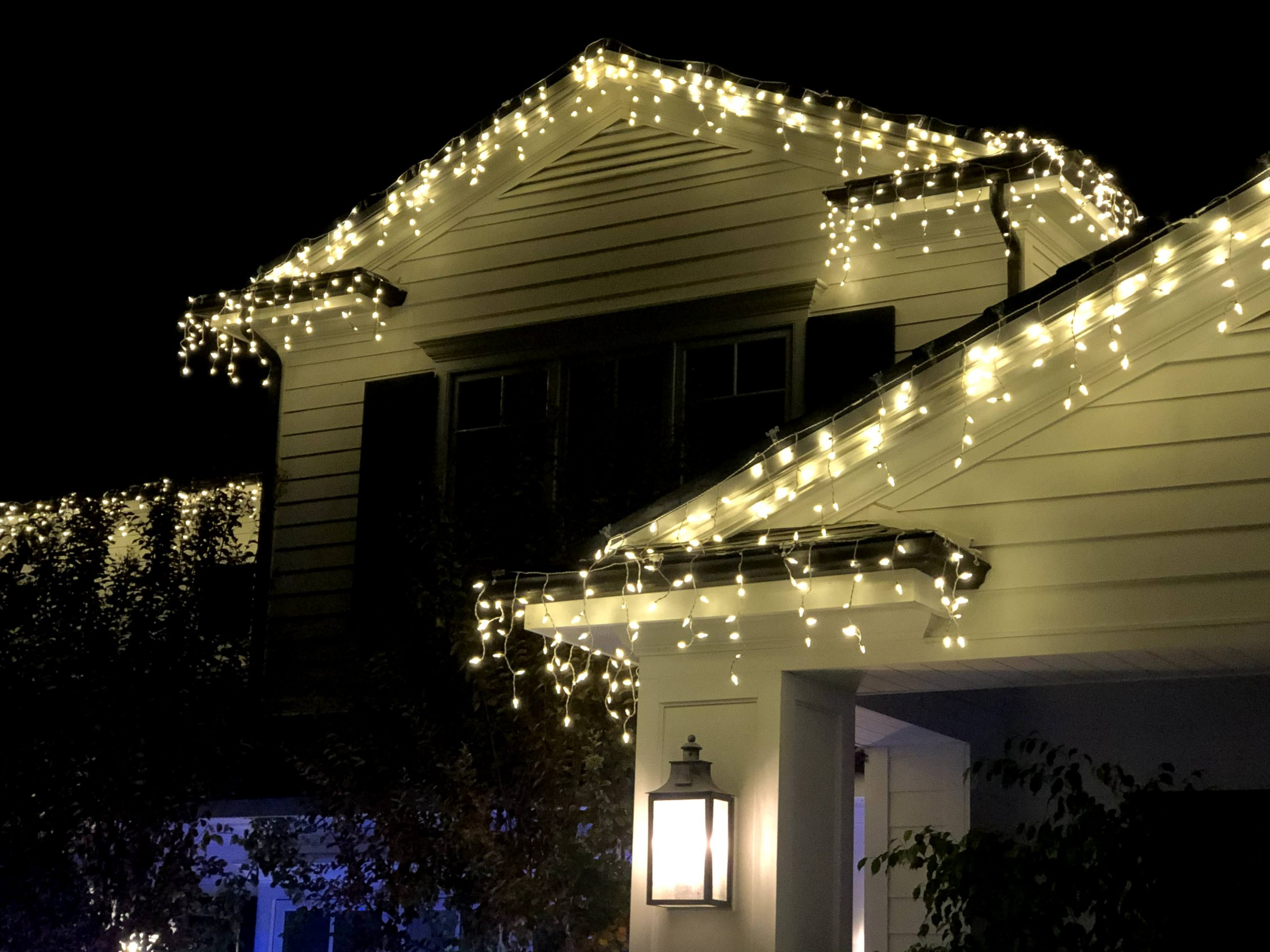 Icicle Holiday Lights